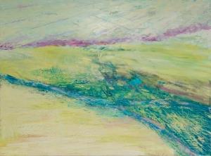 Boundary V: Desert River (Wall View)